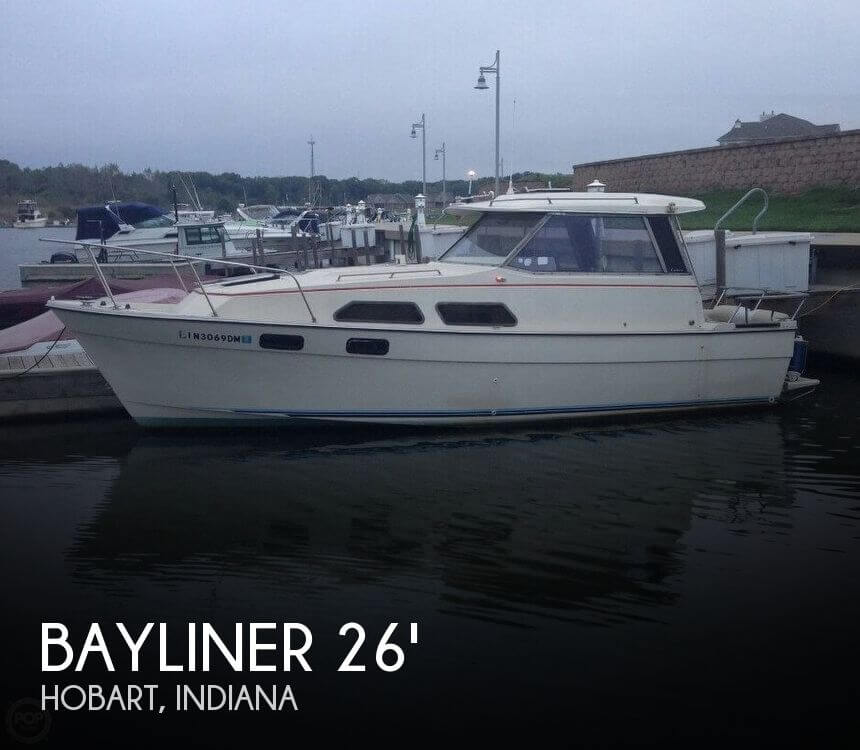 Used Bayliner Boats For Sale in Chicago, Illinois by owner | 1981 Bayliner 26