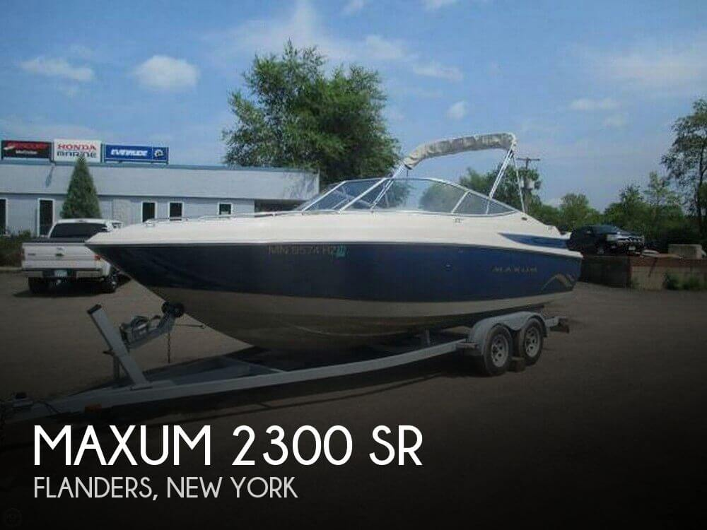 Used Maxum Ski Boats For Sale by owner | 2001 Maxum 23