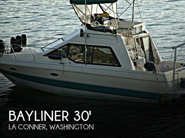 1993 BAYLINER 3058 COMMAND BRIDGE for sale