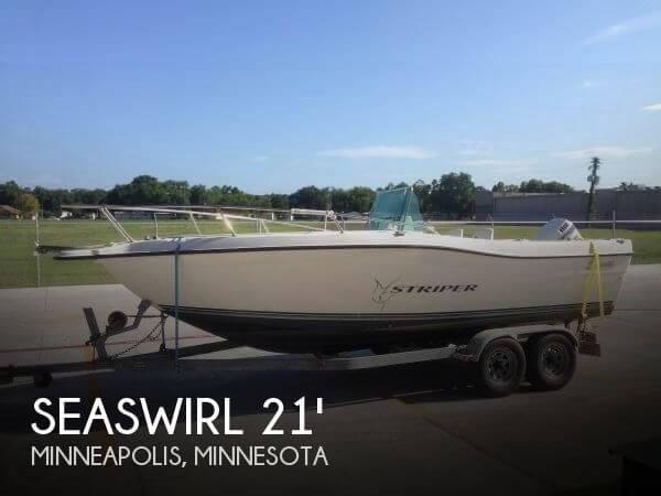 1998 Seaswirl 2100 Striper CC - Photo #1