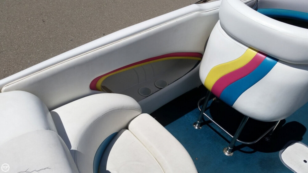 Port Gunnel Storage With Cup Holders