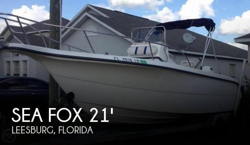 2001 SEA FOX 210 CENTER CONSOLE for sale