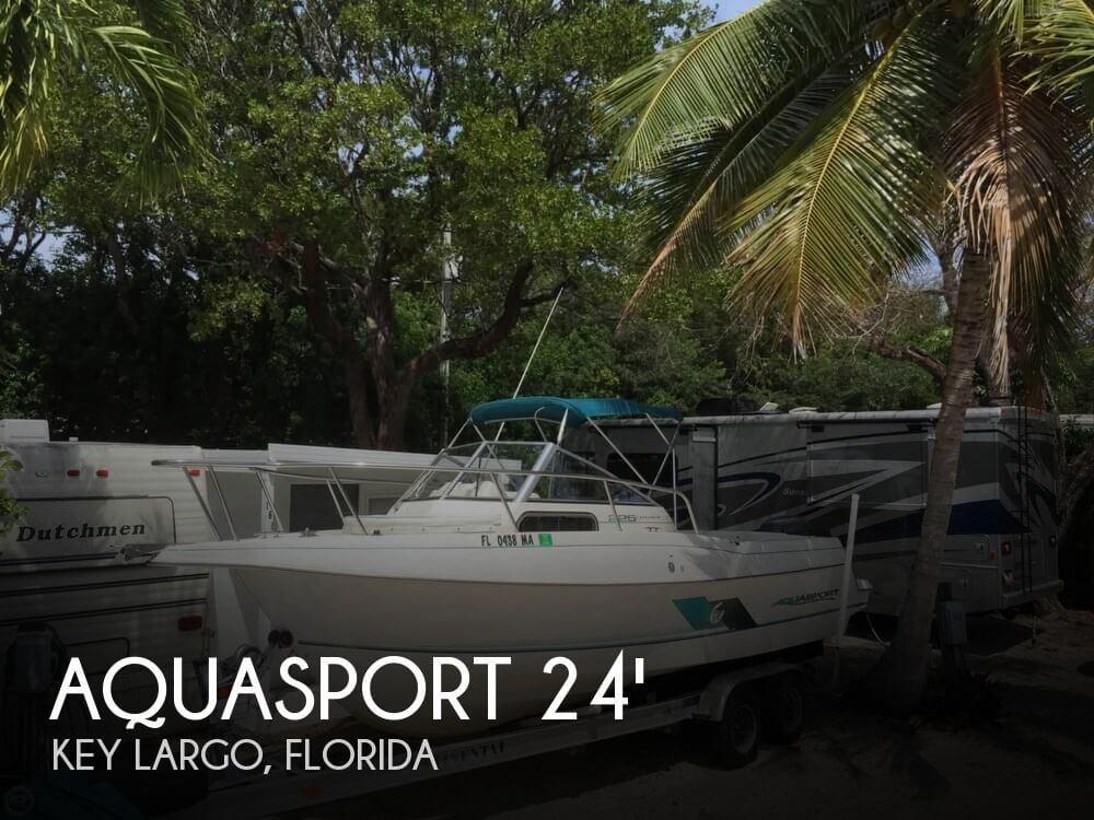1999 Aquasport 24 - Photo #1