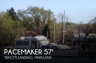 Used Motoryachts For Sale in Maryland by owner | 1978 Pacemaker 57