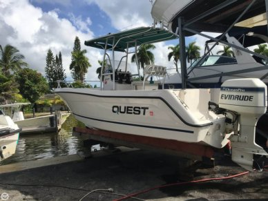 Quest 217 Open Fisherman, 22', for sale - $15,500