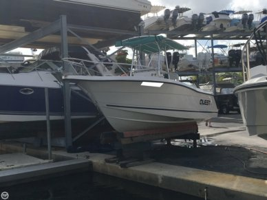 Quest 217 Open Fisherman, 22', for sale - $16,000