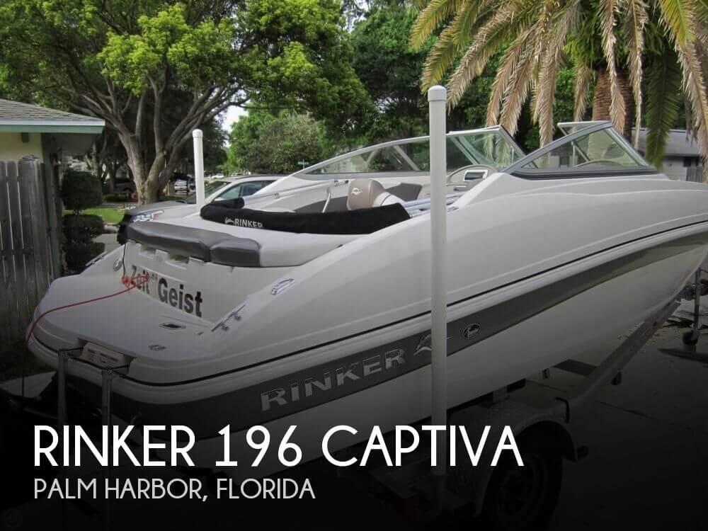 2012 Rinker 196 Captiva - Photo #1
