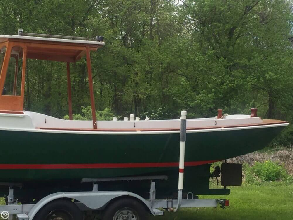 2001 Custom boat for sale, model of the boat is Weston Farmer 20 & Image # 15 of 41