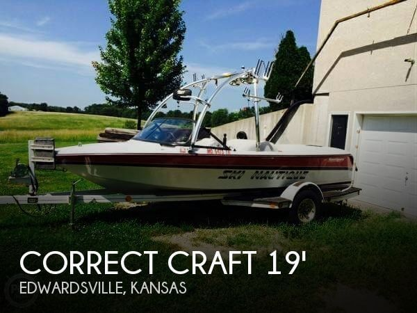 Used Boats For Sale in Kansas City, Missouri by owner | 1996 Correct Craft 19