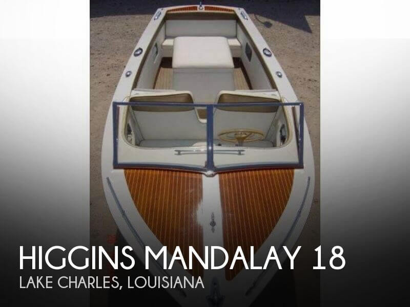 Used Higgins Boats For Sale by owner | 1962 Higgins 18