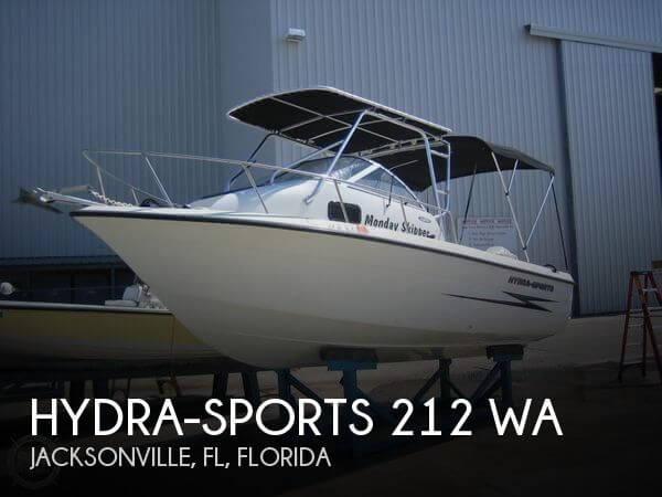 2001 Hydra-Sports 212 WA - Photo #1
