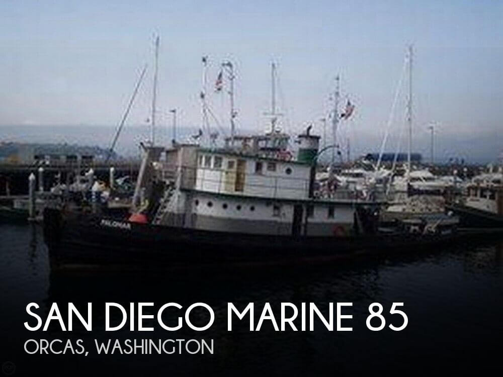 Used Power boats For Sale in Washington by owner | 1926 San Diego Marine 78