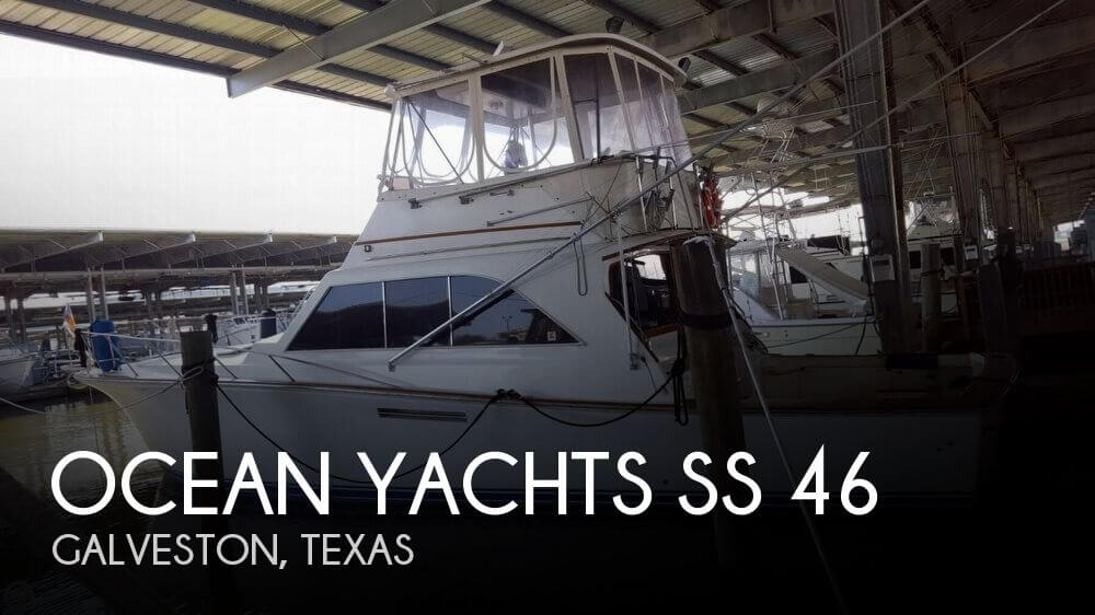 Used Boats For Sale in Houston, Texas by owner | 1983 Ocean Sport 43