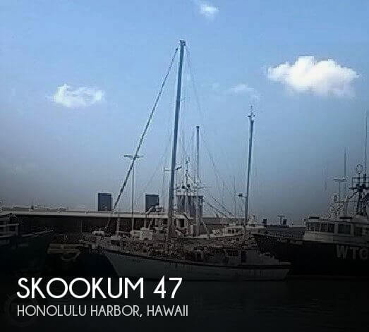 Used Boats For Sale in Honolulu, Hawaii by owner | 1975 Skookum 46