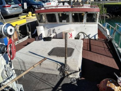 Skookum Commercial Sail Fishing Boat, 46', for sale - $100,000