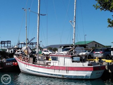 Skookum Commercial Sail Fishing Boat, 46', for sale - $75,000