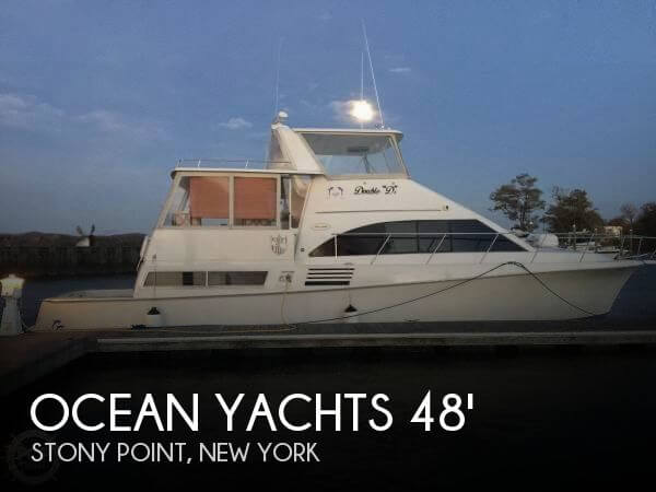 Used Motoryachts For Sale in New York by owner | 1996 Ocean Yachts 48