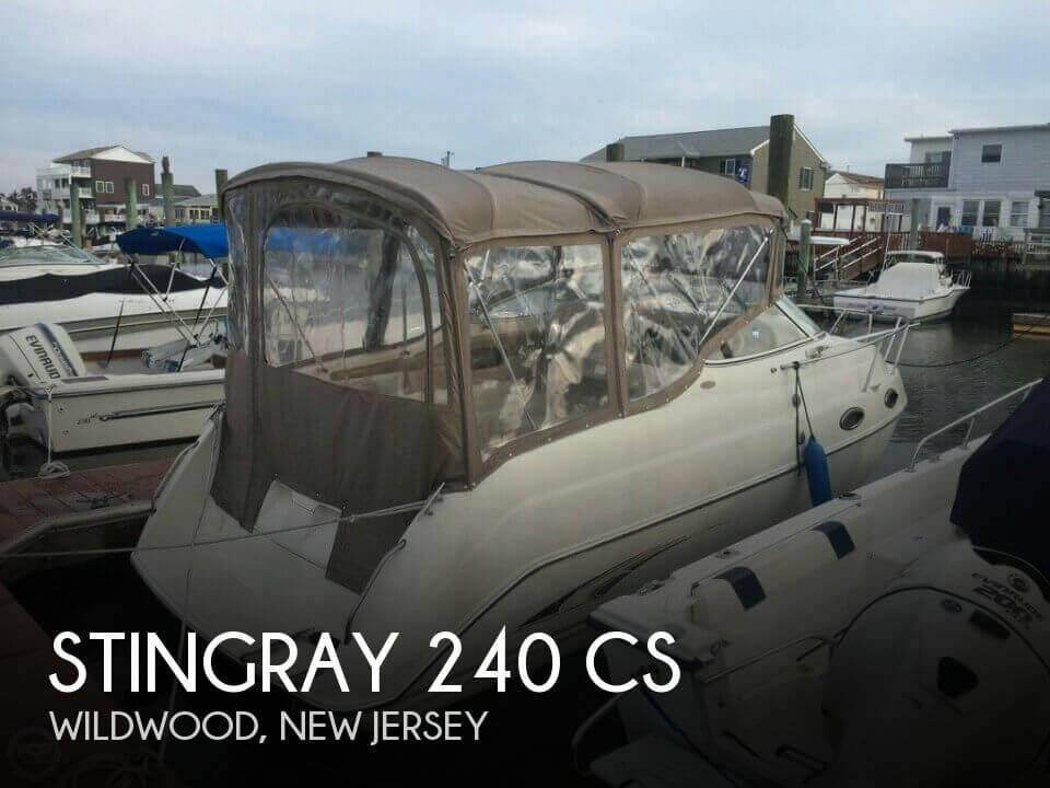 2001 Stingray 240 CS - Photo #1