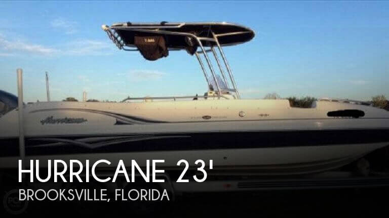 2007 Hurricane Fundeck GS 231 - Photo #1