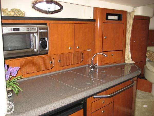 Galley With Corian Counter Top