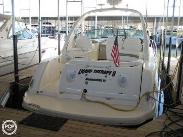 Transom With Speakers & Sound System Remote