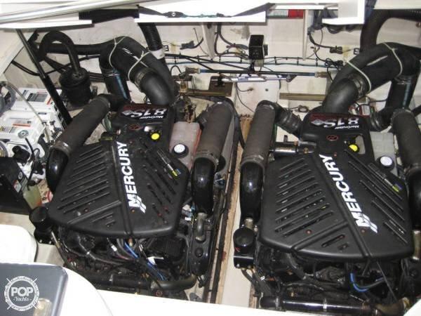 Twin Mercruiser Horizon 8.1 Liter 370 HP Engines