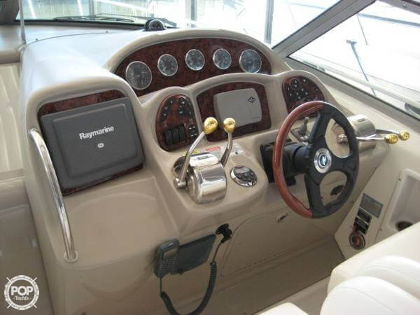 Very Clean Quality Components At The Helm