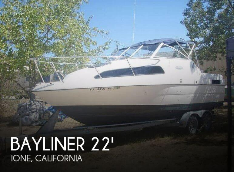 For Sale Used 2002 Bayliner Ciera Express 2252 In Ione California