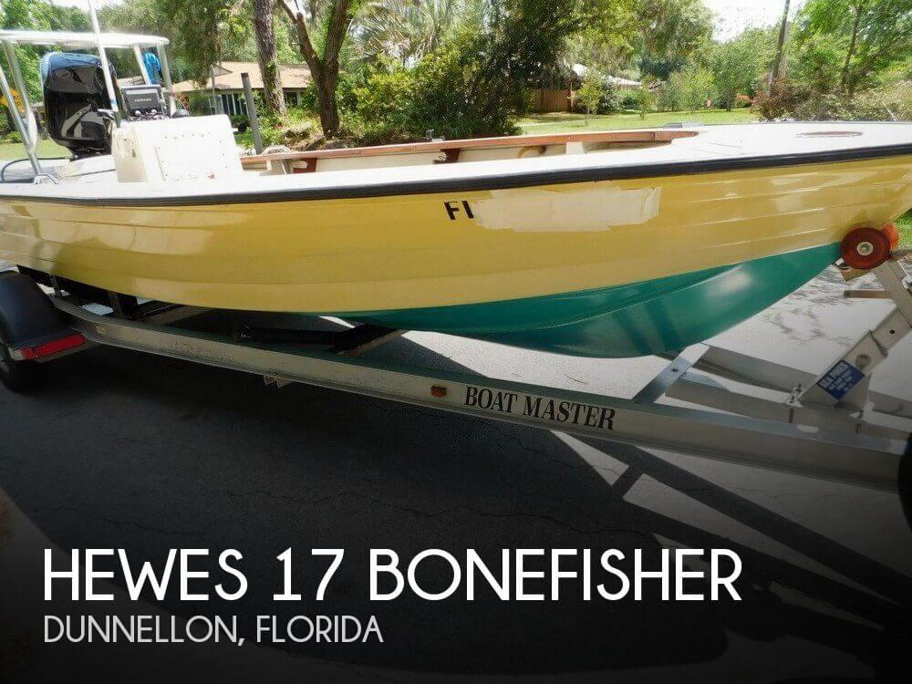 1976 Hewes 17 Bonefisher - Photo #1