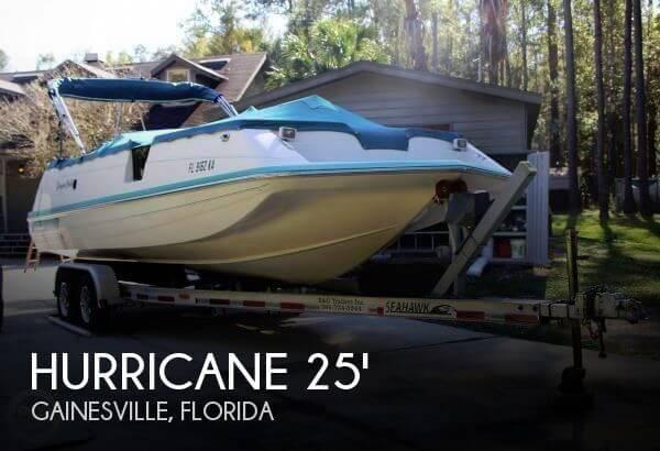 1996 Hurricane 246 Fundeck - Photo #1