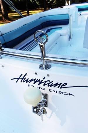1996 Hurricane 246 Fundeck - Photo #14