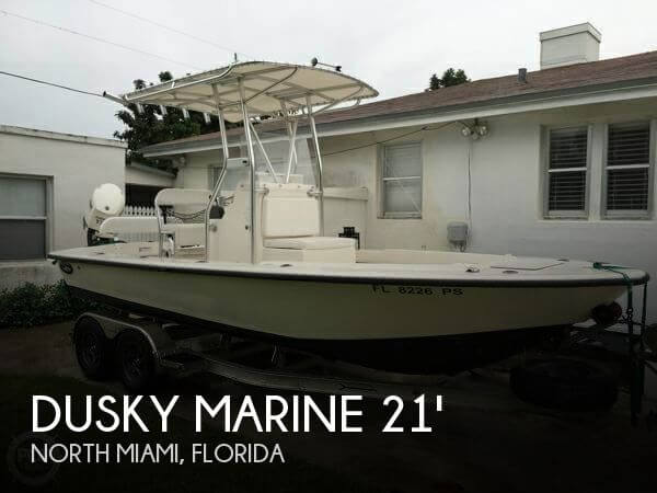 Used Dusky Marine Boats For Sale by owner | 2014 Dusky Marine 21