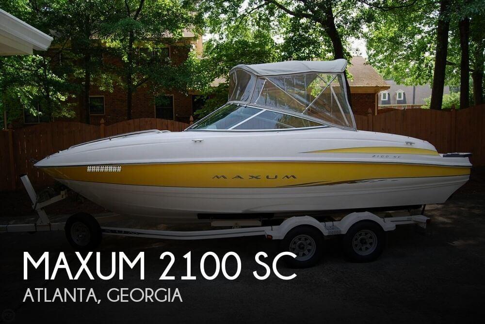 2003 Maxum 2100 SC - Photo #1