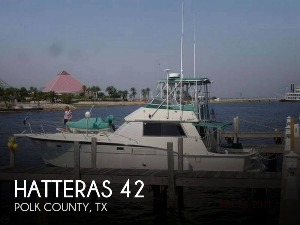 Used Fishing boats For Sale in Texas by owner | 1975 Hatteras 42