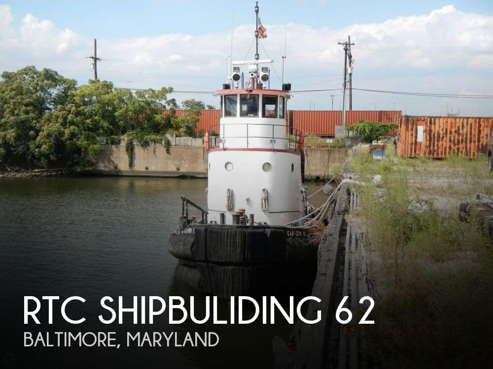 Used Boats For Sale in Wilmington, Delaware by owner | 1951 RTC Shipbuliding 62