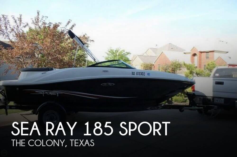 2012 Sea Ray 185 Sport - Photo #1