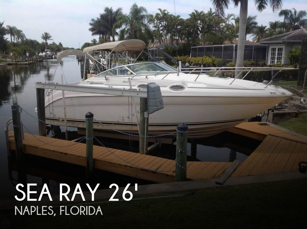 2001 Sea Ray 260 Sundancer For Sale