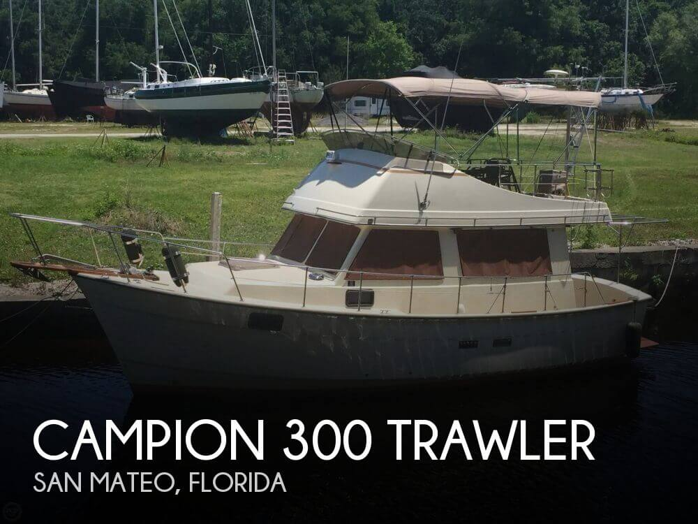 1982 CAMPION 300 TRAWLER for sale