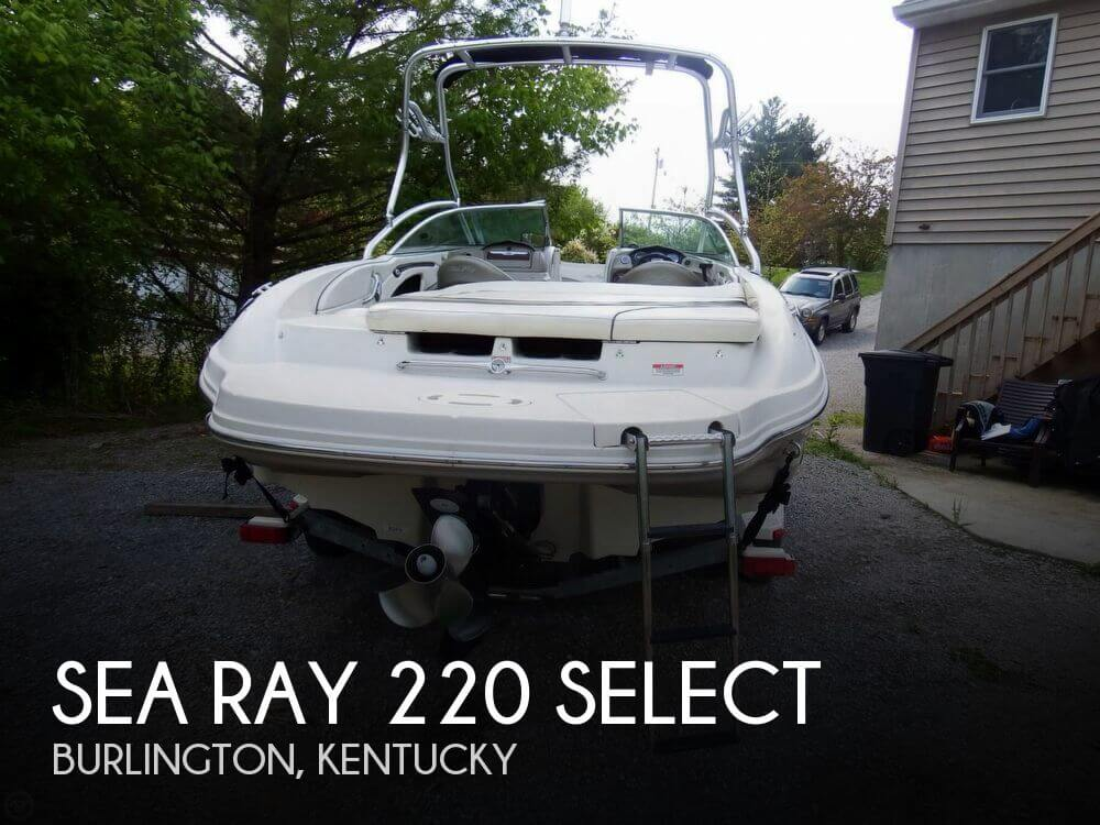 2006 Sea Ray 220 Select - Photo #1