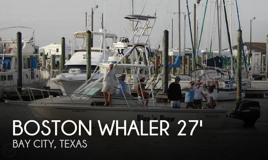 1989 Boston Whaler 27 - Photo #1