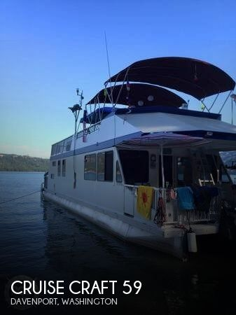 2001 CRUISE CRAFT 59 for sale