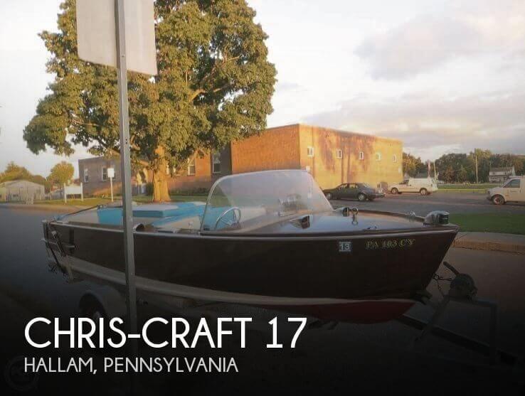 1957 Chris-Craft 17 - Photo #1