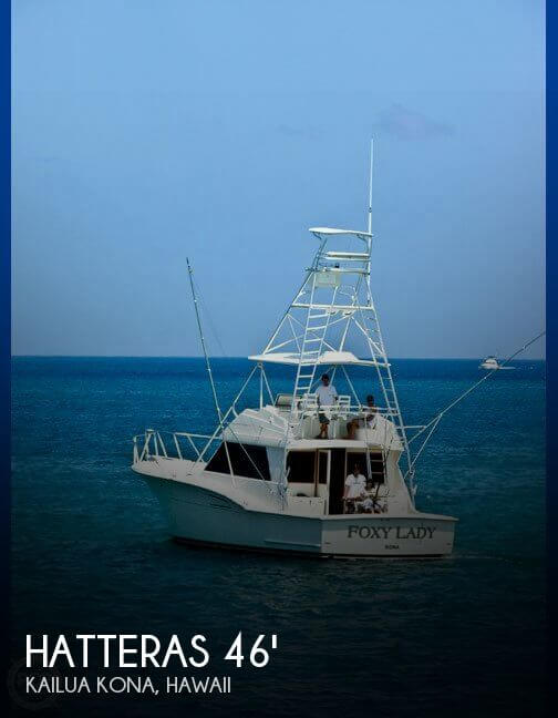 Used HATTERAS Boats For Sale by owner | 1976 Hatteras 46