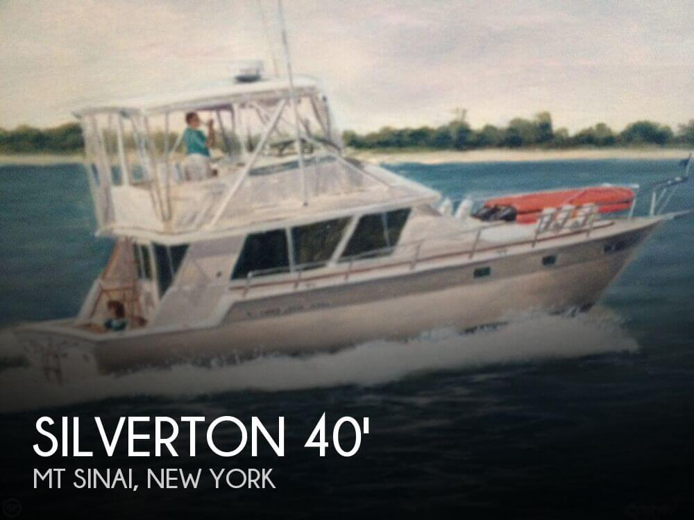 Used Silverton Fishing boats For Sale by owner | 1987 Silverton 40