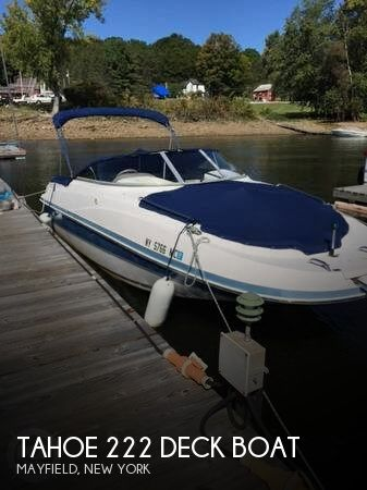 2005 Tahoe 222 Deck Boat - Photo #1