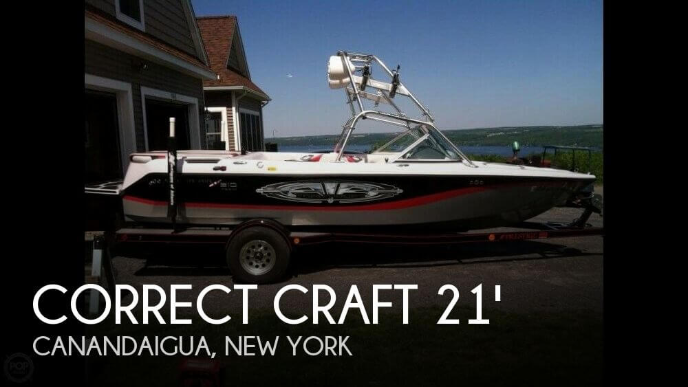 2005 Correct Craft 210 Super Air Team Edition - Photo #1