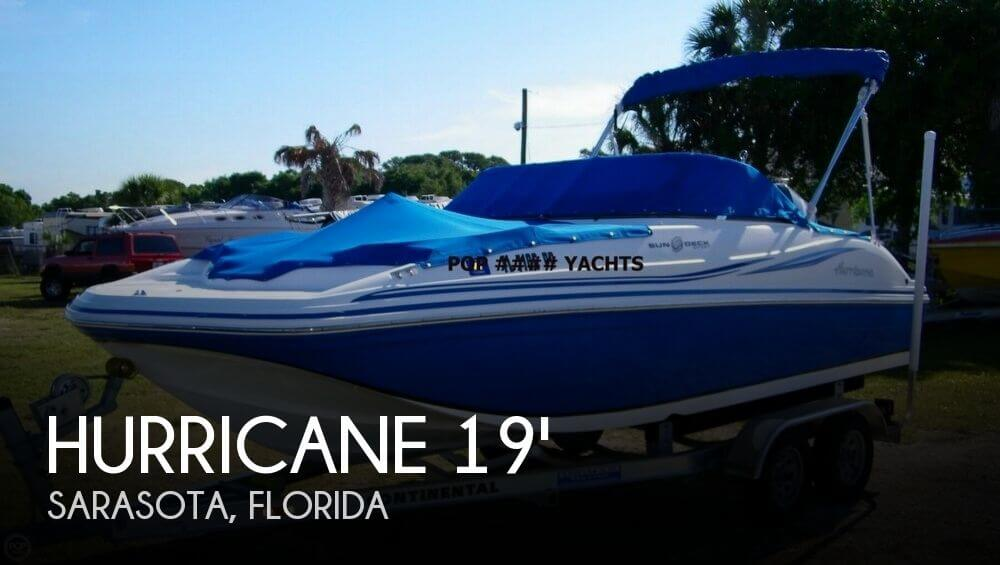 2013 Hurricane SunDeck 187 Sport - Photo #1