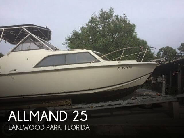 Used Allmand Boats For Sale by owner | 1978 Allmand 25