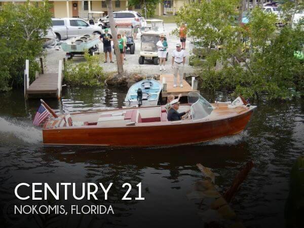 21 foot century 21 21 foot motor boat in north venice fl for Century motors of south florida
