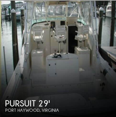 1998 Pursuit 3000 Offshore - Photo #1